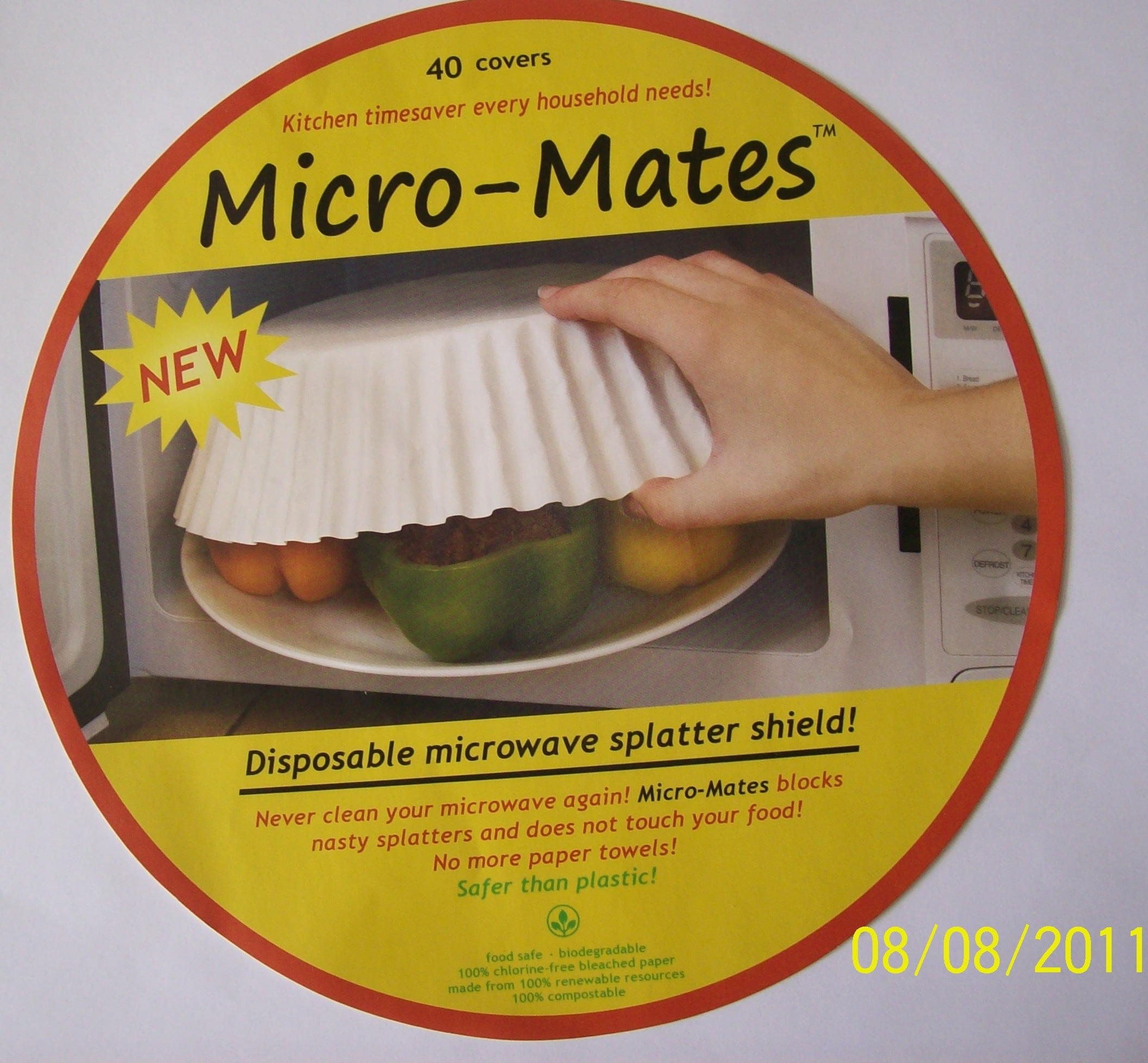 Foodsplatterguards A Toxic Free Non Cancer Causing Microwave Food Cover